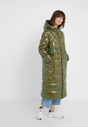 PIUMINO CIRE - Down coat - military gold