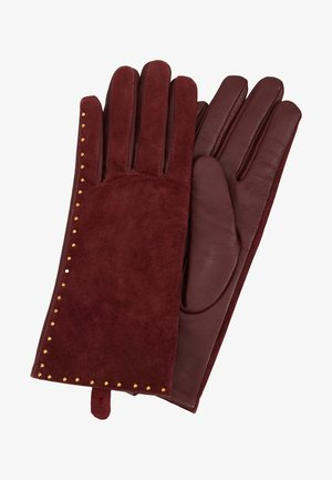 GLOVES - Fingerhandschuh - beet red