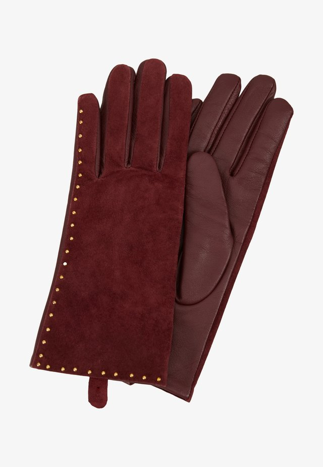 GLOVES - Gloves - beet red