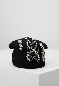 TWINSET - FLOWERS PATCH - Beanie - nero - 0