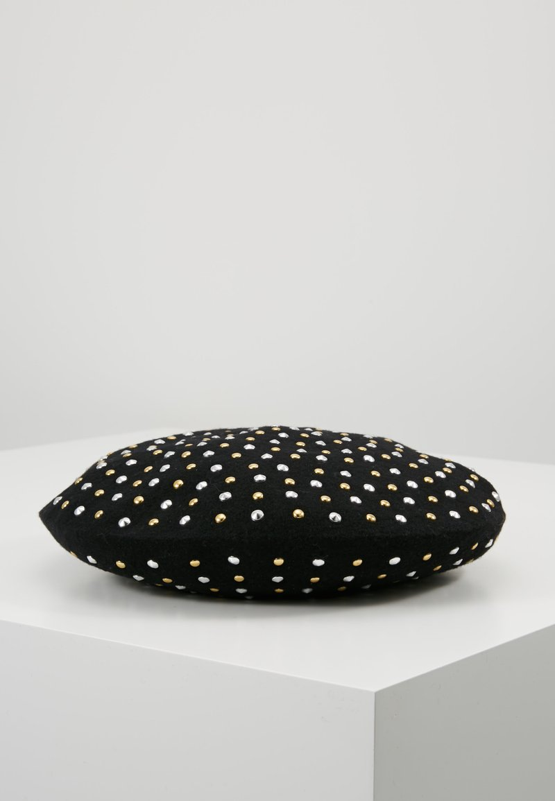 TWINSET - ALL OVER STUDS BASQUE BERET - Hat - nero