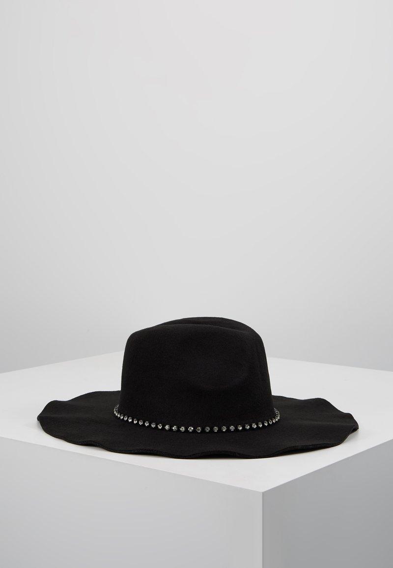 TWINSET - BICOLOR STONES - Sombrero - nero