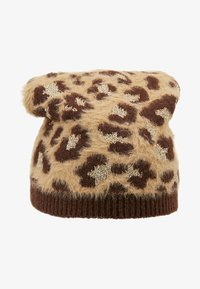 TWINSET - SPOTTED BEANIE - Huer - brown - 3