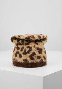 TWINSET - SPOTTED BEANIE - Huer - brown - 2