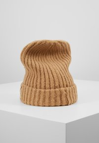 TWINSET - EMBROIDERY BEANIE - Huer - camel - 2