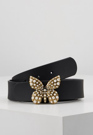 BUTTERFLY BUCKLE - Riem - nero