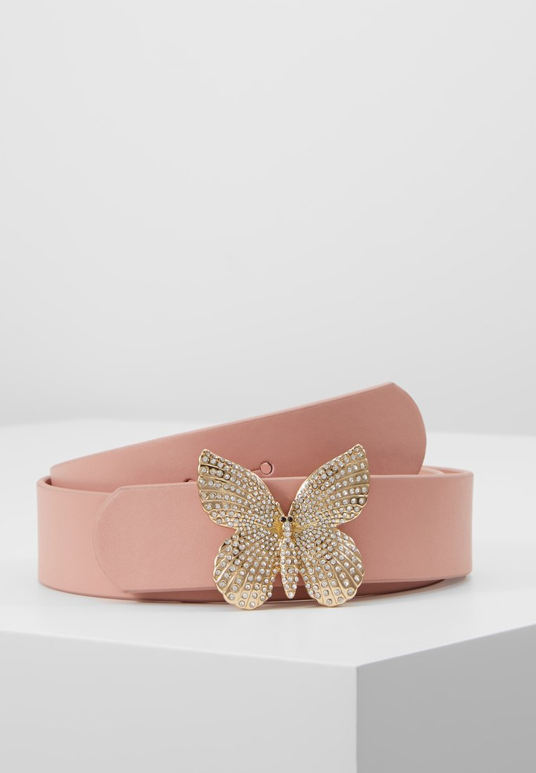 TWINSET - BUTTERFLY BUCKLE - Vyö - pink mousse