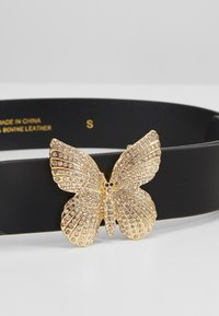 TWINSET - BUTTERFLY BUCKLE - Cintura - nero - 4
