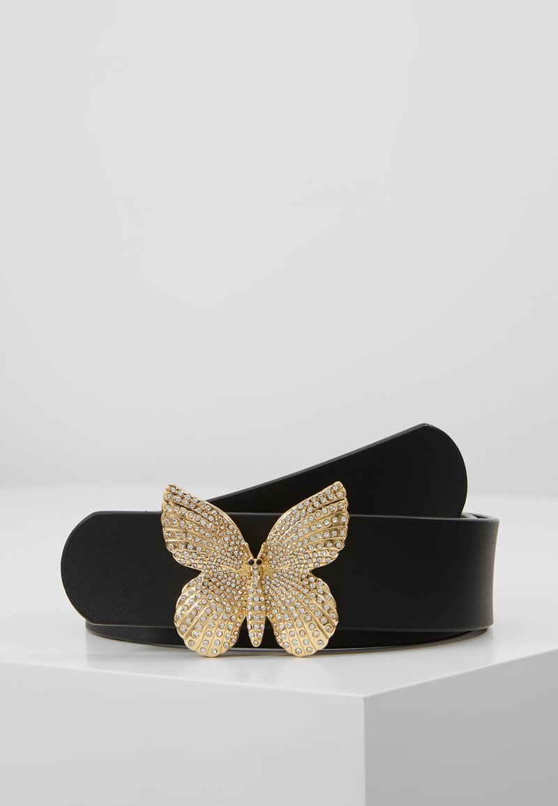 TWINSET - BUTTERFLY BUCKLE - Vyö - nero