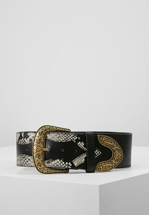 PATCHWORK BELT - Cinturón - antracite