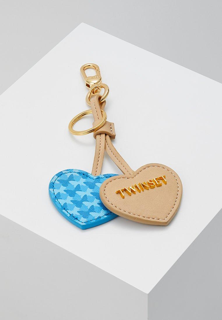 TWINSET - KEY CHAIN - Schlüsselanhänger - farfalle blu