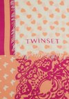 TWINSET - MIX PRINTS KEFIA - Foulard - electric pink/macaron