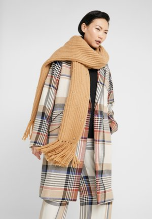 EMBROIDERY SCARVE - Scarf - camel