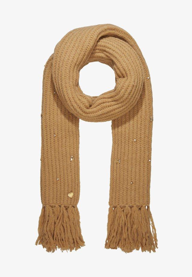 EMBROIDERY SCARVE - Huivi - camel