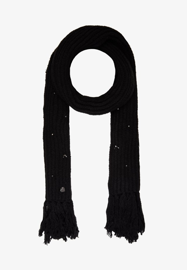 EMBROIDERY SCARVE - Scarf - nero
