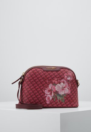 ALL OVER BUTTERFLY - Borsa a tracolla - butterfly flowermilitary gold