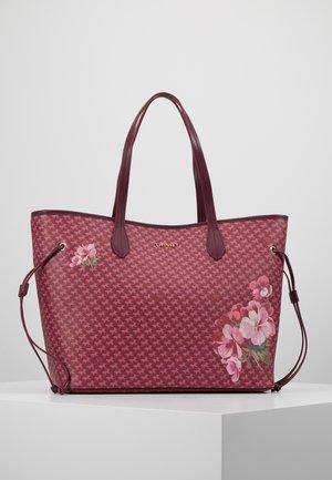 ALL OVER BUTTERFLY - Handbag - bordeaux