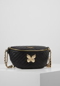 TWINSET - QUILTED BUTTERFLY  - Riñonera - nero - 0