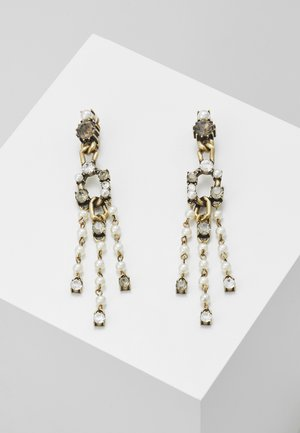 RHINESTONES JEWELLERY - Earrings - ottone invecchiato