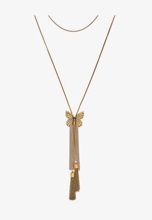 CHOCKER FARFALLA  - Smykke - gold-coloured