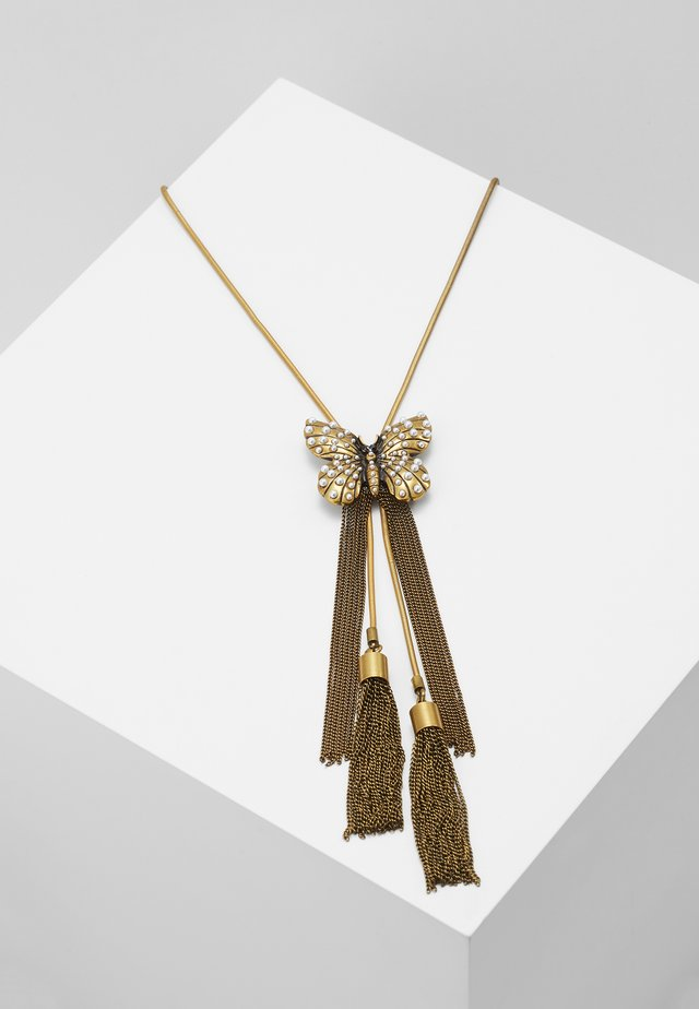 CHOCKER FARFALLA  - Necklace - gold-coloured