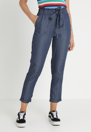 Pantalones - blue denim