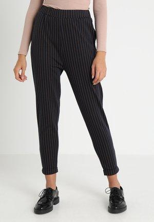 Pantaloni - dark blue/orange