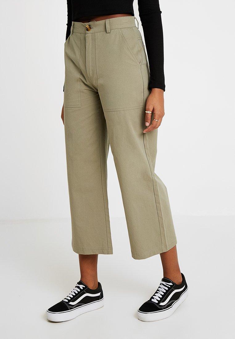 TWINTIP - Kalhoty - khaki
