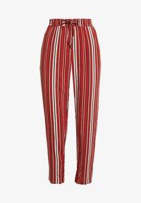 TWINTIP - Spodnie materiałowe - black/red - 3