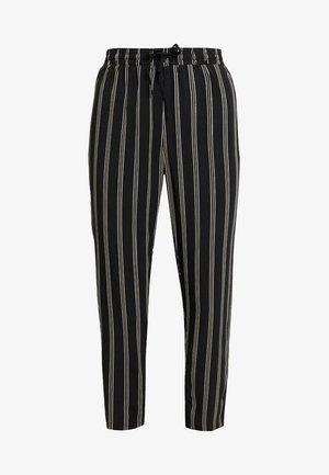 Pantaloni - black/yellow