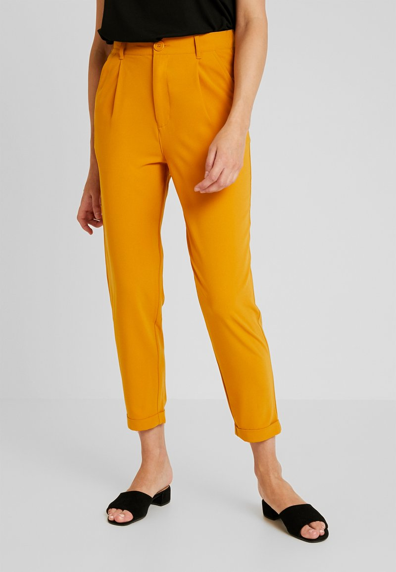 TWINTIP - Trousers - mustard