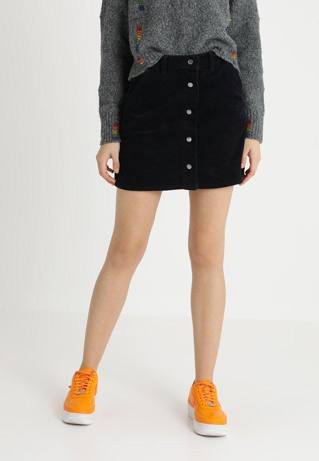 A-line skirt - true navy