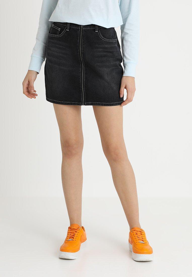 TWINTIP - A-line skirt - black