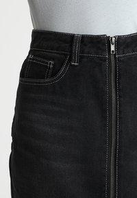 TWINTIP - A-snit nederdel/ A-formede nederdele - black - 3