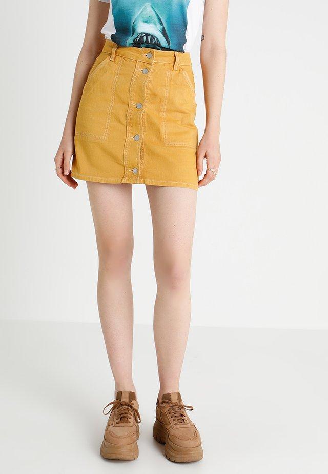 A-snit nederdel/ A-formede nederdele - dark yellow