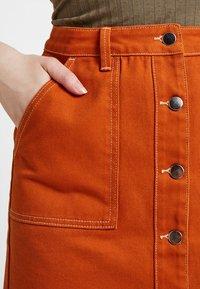TWINTIP - A-line skirt - light brown - 4