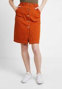 TWINTIP - A-line skirt - light brown - 0