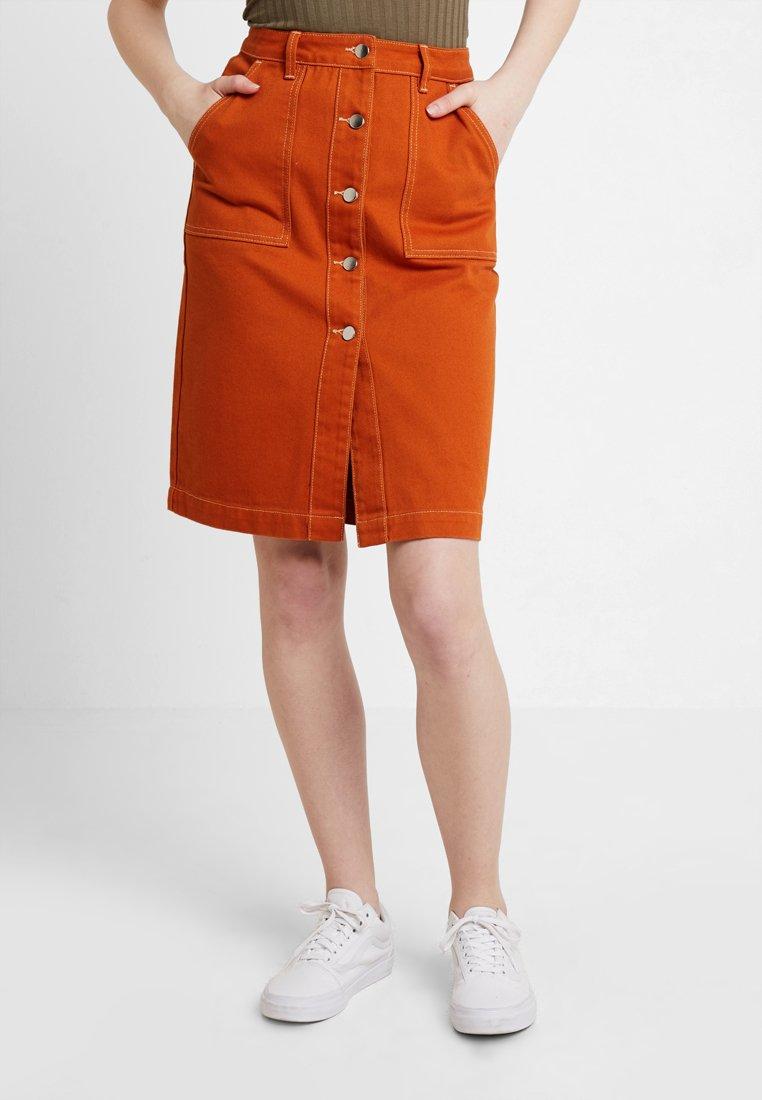 TWINTIP - A-line skirt - light brown