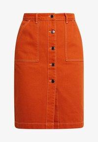 TWINTIP - A-line skirt - light brown - 3