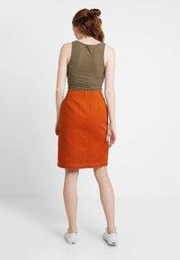 TWINTIP - A-line skirt - light brown - 2