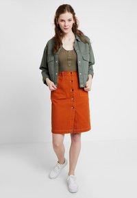 TWINTIP - A-line skirt - light brown - 1