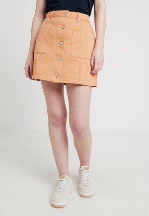 Jeansrok - peach blush