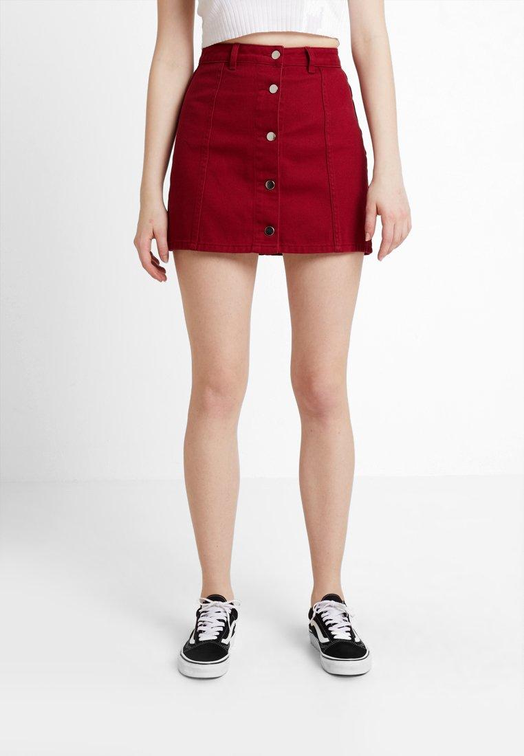 TWINTIP - A-line skirt -  berry