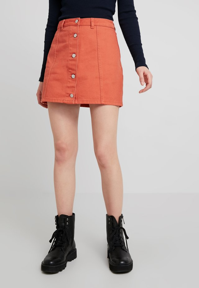 A-line skirt - light rusty