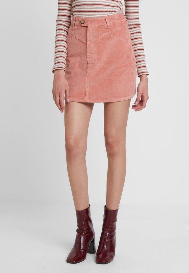 Spódnica mini - pink