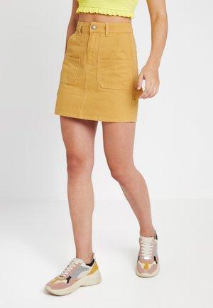 A-lijn rok - mustard