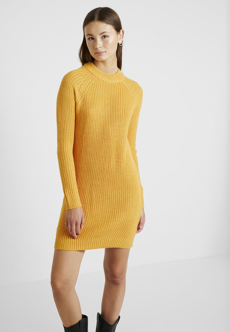 TWINTIP - Jumper dress - yellow