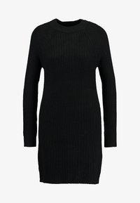 TWINTIP - Pletené šaty - black - 4