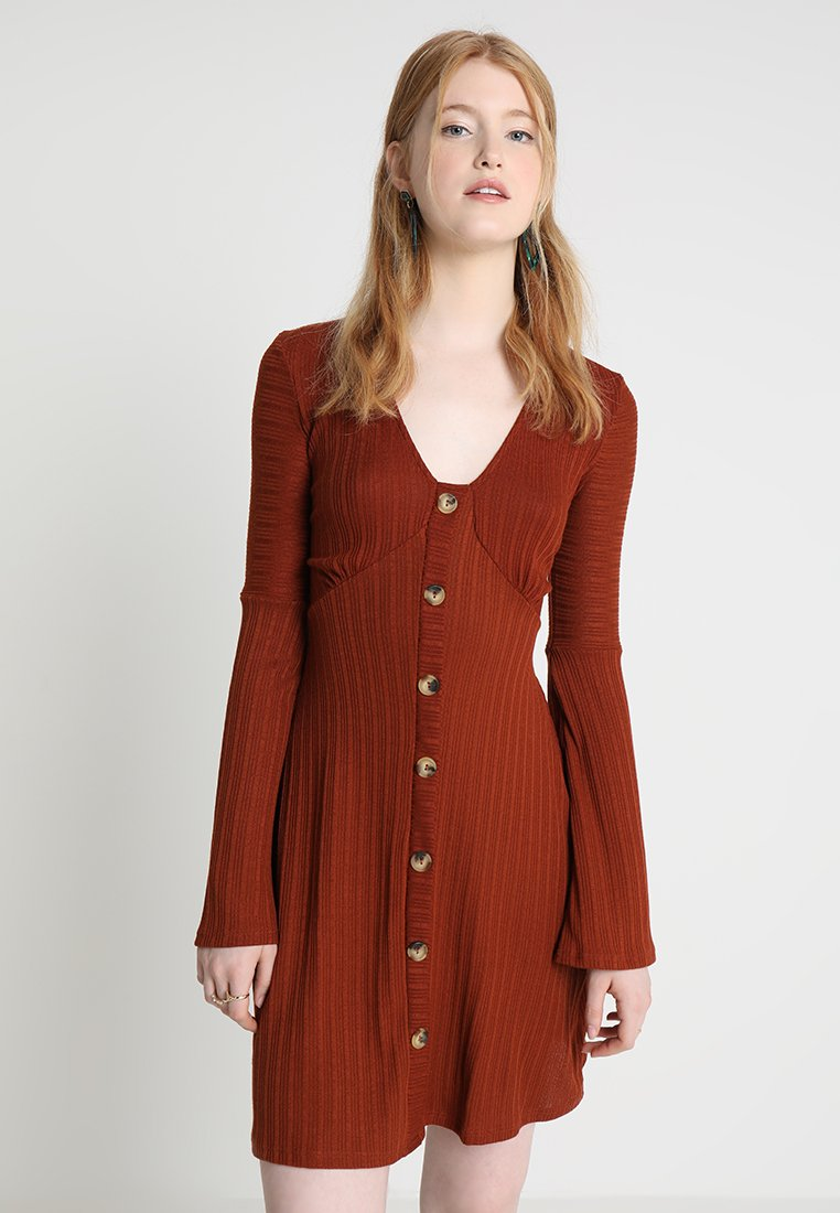 TWINTIP - Jerseykleid - rust