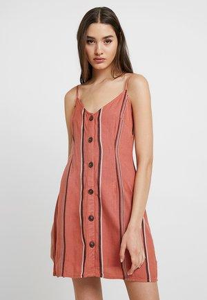 Robe chemise - orange